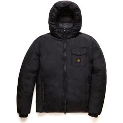 tekstylia Męskie Kurtki pikowane Refrigiwear RM0G12203NY0176 Czarny
