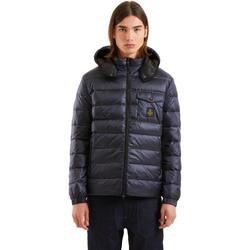 tekstylia Męskie Kurtki pikowane Refrigiwear RM5G06600NY9132 Niebieski