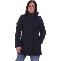 tekstylia Damskie Kurtki ocieplane Lumberjack CW96021 001 404 Niebieski