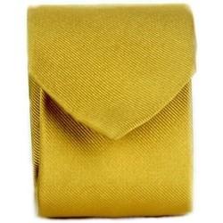 tekstylia Męskie Krawaty i akcesoria  Michi D'amato CRAVATTA 002 Żółty