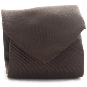 tekstylia Męskie Krawaty i akcesoria  Michi D'amato CRAVATTA 001 Brązowy