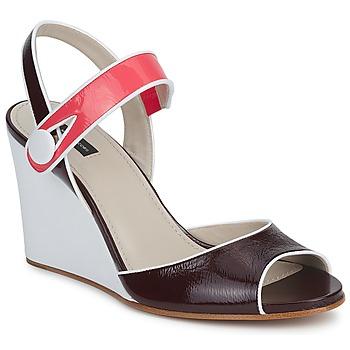 Buty Damskie Sandały Marc Jacobs VOGUE GOAT BORDEAUX / Różowy
