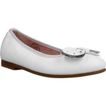 Buty Dziewczynka Baleriny Garvalin 202600 Biały