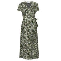 tekstylia Damskie Sukienki długie Betty London OMADAM Czarny / Wielokolorowy