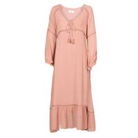 tekstylia Damskie Sukienki długie Betty London OFRI Różowy