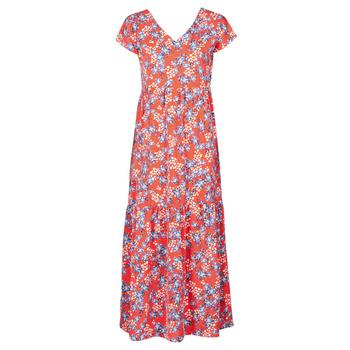 tekstylia Damskie Sukienki długie Betty London ODE Czerwony / Wielokolorowy