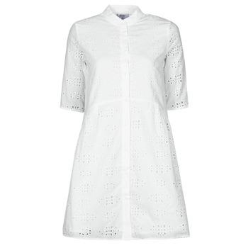 tekstylia Damskie Sukienki krótkie Betty London ODA Biały