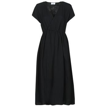 tekstylia Damskie Sukienki długie Betty London ODAME Czarny