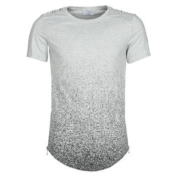 tekstylia Męskie T-shirty z krótkim rękawem Yurban OLORD Szary / Czarny