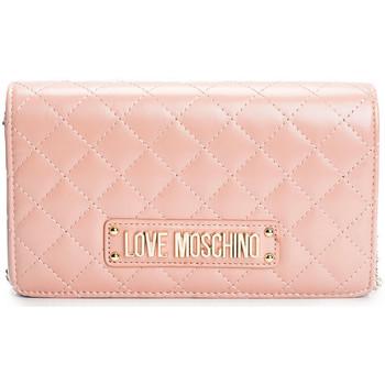 Torby Damskie Torby na ramię Love Moschino  Różowy