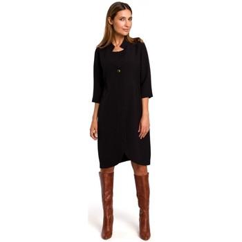 tekstylia Damskie Sukienki krótkie Style S189 Sukienka z marynarką - czarna