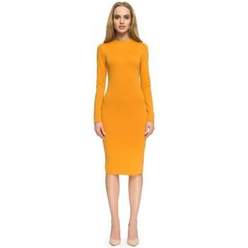 tekstylia Damskie Sukienki krótkie Style S033 Sukienka - błękit królewski