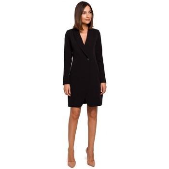 tekstylia Damskie Sukienki Style S217 Sukienka z marynarką - czarna