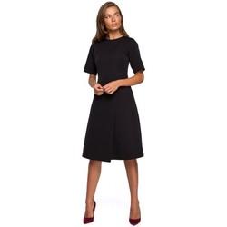 tekstylia Damskie Sukienki krótkie Style S240 Wrap front dress - czerwony