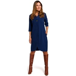 tekstylia Damskie Sukienki krótkie Style S189 Blazer dress - navy blue