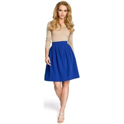 tekstylia Damskie Spódnice Moe M237 Skirt - royal blue