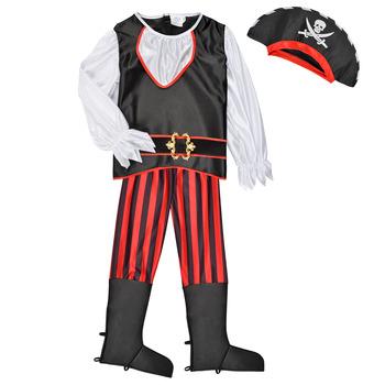 tekstylia Chłopiec Kostiumy Fun Costumes COSTUME ENFANT PIRATE TOM Wielokolorowy