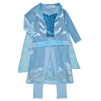 tekstylia Dziewczynka Kostiumy Fun Costumes COSTUME ENFANT PRINCESSE DES NEIGES Wielokolorowy