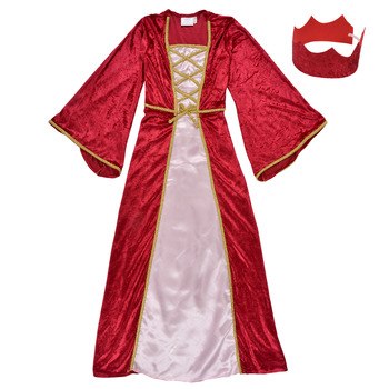 tekstylia Dziewczynka Kostiumy Fun Costumes COSTUME ENFANT REINE DE LA RENAISSANCE Wielokolorowy