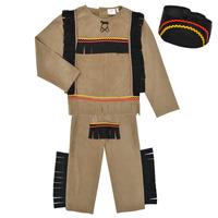 tekstylia Chłopiec Kostiumy Fun Costumes COSTUME ENFANT INDIEN BIG BEAR Wielokolorowy