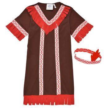 tekstylia Dziewczynka Kostiumy Fun Costumes COSTUME ENFANT INDIENNE FOX KITTEN Wielokolorowy