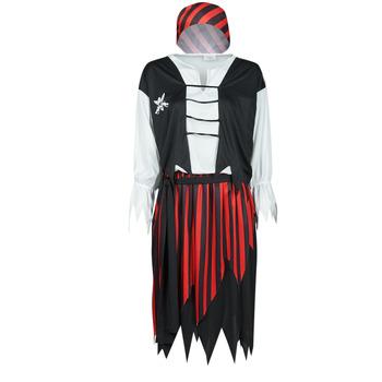 tekstylia Damskie Kostiumy Fun Costumes COSTUME ADULTE PIRATE SUZY Wielokolorowy