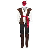 tekstylia Męskie Kostiumy Fun Costumes COSTUME ADULTE PIRATE THUNDER Wielokolorowy