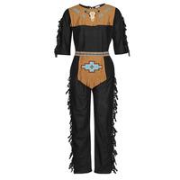 tekstylia Męskie Kostiumy Fun Costumes COSTUME ADULTE INDIENNE SHE-WOLF Wielokolorowy