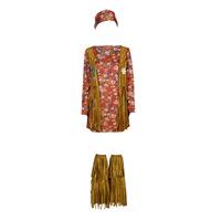 tekstylia Damskie Kostiumy Fun Costumes COSTUME ADULTE HIPPIE HOTTIE Wielokolorowy