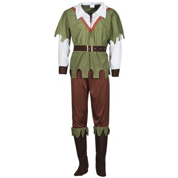 tekstylia Męskie Kostiumy Fun Costumes COSTUME ADULTE FOREST HUNTER Wielokolorowy