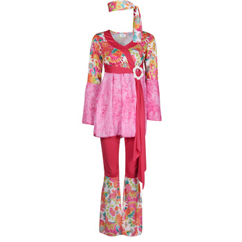 tekstylia Damskie Kostiumy Fun Costumes COSTUME ADULTE HAPPY DIVA Wielokolorowy