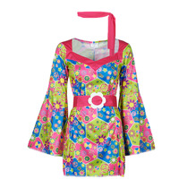 tekstylia Damskie Kostiumy Fun Costumes COSTUME ADULTE SWEET MEADOW Wielokolorowy