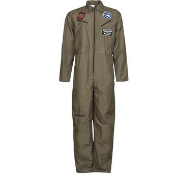 tekstylia Męskie Kostiumy Fun Costumes COSTUME ADULTE PILOTE JET Wielokolorowy