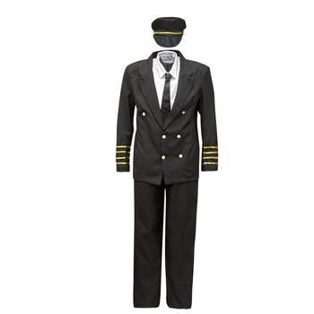 tekstylia Męskie Kostiumy Fun Costumes COSTUME ADULTE PILOTE Wielokolorowy
