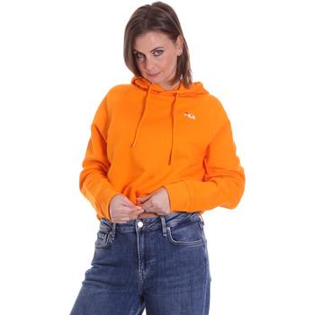 tekstylia Damskie Bluzy Fila 687992 Pomarańczowy
