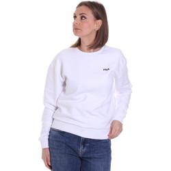 tekstylia Damskie Bluzy Fila 687467 Biały