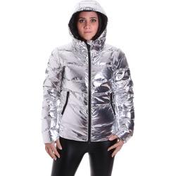 tekstylia Damskie Kurtki pikowane Refrigiwear RW5W09000NY0188 Szary