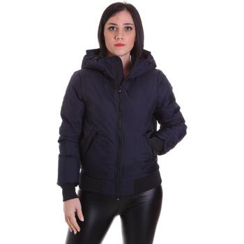 tekstylia Damskie Kurtki lekkie Refrigiwear RW8W13600NY3209 Niebieski