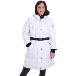 tekstylia Damskie Kurtki pikowane Refrigiwear RW8W05601NY9131 Biały