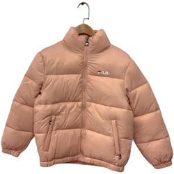 tekstylia Dziecko Kurtki pikowane Fila 688419 Różowy