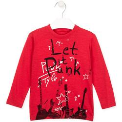 tekstylia Dziecko T-shirty z długim rękawem Losan 026-1001AL Czerwony