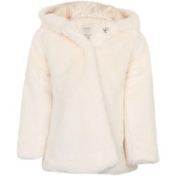 tekstylia Dziewczynka Płaszcze Losan 026-2795AL Biały