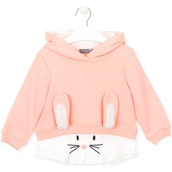 tekstylia Dziecko Bluzy Losan 026-6024AL Różowy