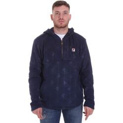 tekstylia Męskie Bluzy Fila 687879 Niebieski
