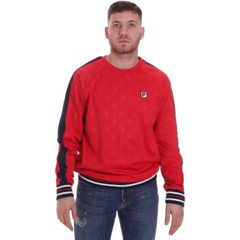 tekstylia Męskie Bluzy Fila 687883 Czerwony