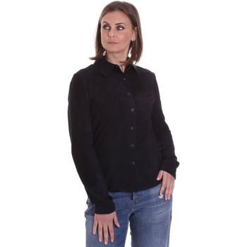 tekstylia Damskie Koszule La Carrie 092P-C-110 Czarny