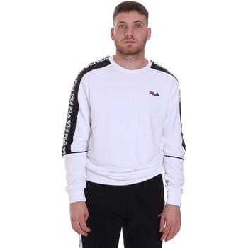 tekstylia Męskie Bluzy Fila 688812 Biały