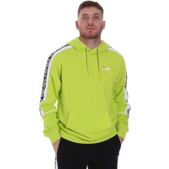 tekstylia Męskie Bluzy Fila 688815 Zielony
