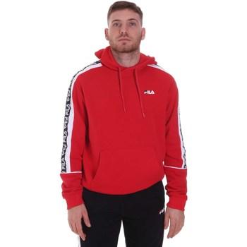 tekstylia Męskie Bluzy Fila 688815 Czerwony