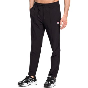 tekstylia Męskie Spodnie dresowe Fila 687711 Czarny